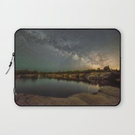 Milkyway at Halibut Point State Park quarry Laptop Sleeve