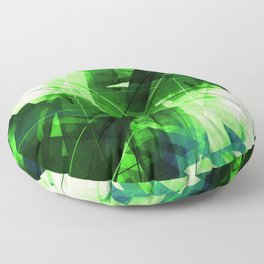 Elemental - Geometric Abstract Art Floor Pillow