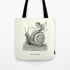 'Full Speed Ahead!' Tote Bag