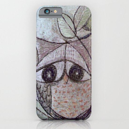 Owl couple iPhone & iPod Case