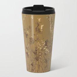 Thin Branches Sepia Travel Mug