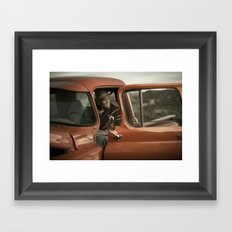 Joshua Tree Portrait 5 Framed Art Print