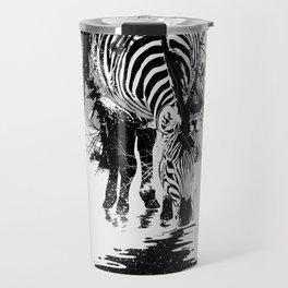 Stripe Charging Travel Mug