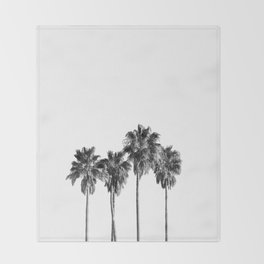 Palm trees 3 Throw Blanket