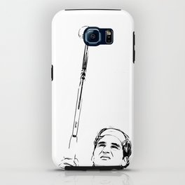Federer's Balancing Act iPhone Case