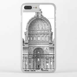 St. Peter Basilica - Rome, Italy Clear iPhone Case