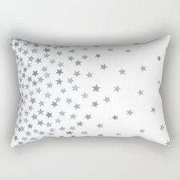 STARS SILVER Rectangular Pillow