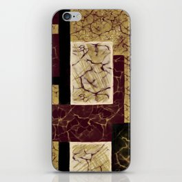 Crackle2 iPhone Skin