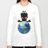 invader zim Long Sleeve T-shirts featuring Invader Zim by Proxish Designs