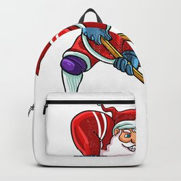 Santa hockey Backpack