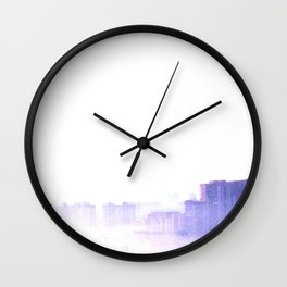 Ghost city Wall Clock