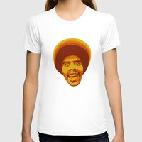 70s T-shirts featuring 70s style Disco Afro by D-fens