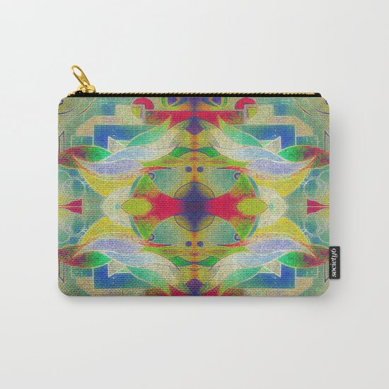Mandala H I Carry-All Pouch