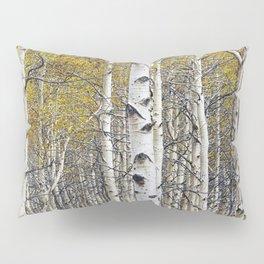 Birch Trees in Autumn Pillow Sham