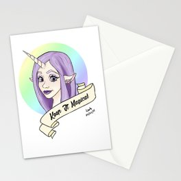 keep it magical Stationery Cards