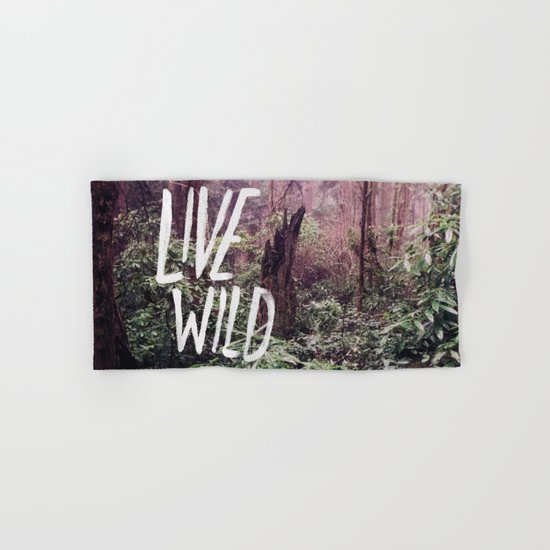 Live Wild: Oregon Hand & Bath Towel