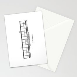 Mies - A is for Architecture Stationery Cards