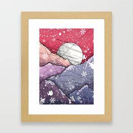 Mountains of Christmas Framed Art Print