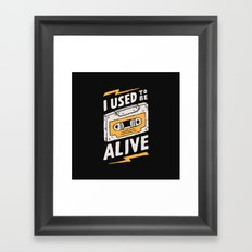 Alive Framed Art Print