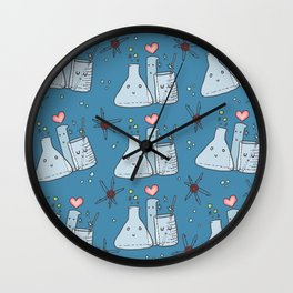 Glassware Friends Wall Clock