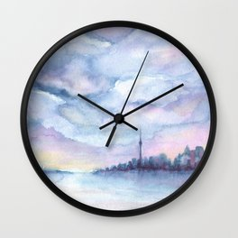 Once Upon Toronto - Skyline Wall Clock