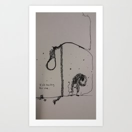 Too Big Art Print