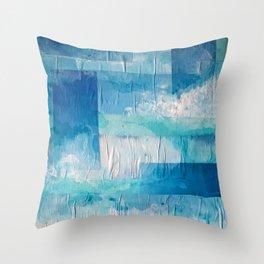 Imaginary Landscapes: Hello, Tomorrow Throw Pillow