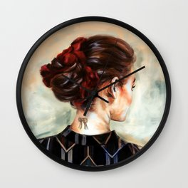 Gaze Wall Clock
