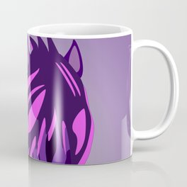 Pony in the Pink Coffee Mug