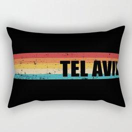 Tel Aviv vintage Rectangular Pillow