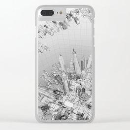 Future City Light Clear iPhone Case
