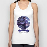 league of legends Tank Tops featuring League Of Legends - Diana by TheDrawingDuo