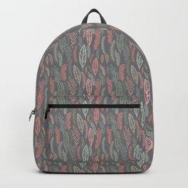 pastel floral Backpack