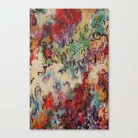 baroque Canvas Prints featuring Baroque by Gertrude Steenbeek