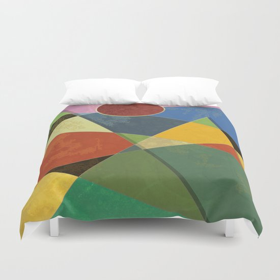 Abstract #326 Duvet Cover