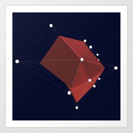 3d abstraction  Art Print