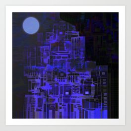 Biggest Moon / Perigee Art Print
