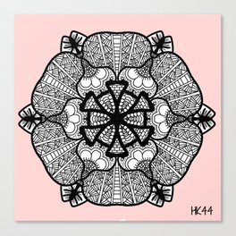 Zentangle 12 Canvas Print