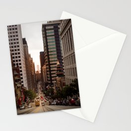 Lingering in San Francisco Stationery Cards