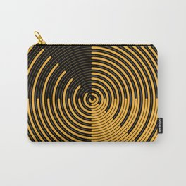 Yellow Sweep dark Carry-All Pouch