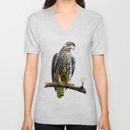 Ayres's Hawk Eagle Unisex V-Neck