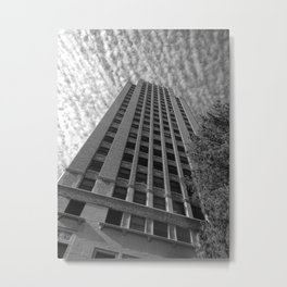 Scraping the Sky Metal Print