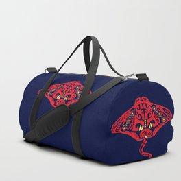 Manta pattern Duffle Bag
