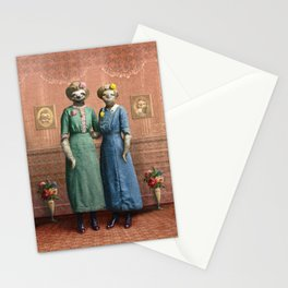 The Sloth Sisters at Home Stationery Cards