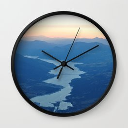 Smooth Evening Wall Clock