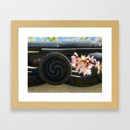 Spring at the Shofuso Framed Art Print