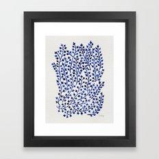 Porcelain Ivy Framed Art Print