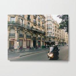 parisian streets Metal Print