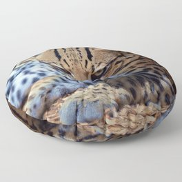 Ocelot Floor Pillow