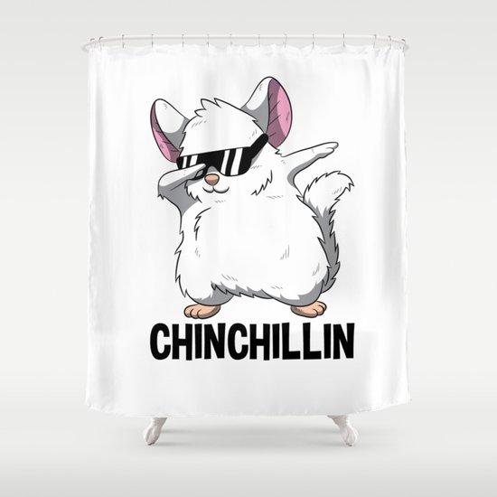 Dabbing Chinchillin T Shirt Chinchilla Cute Pet by born-design